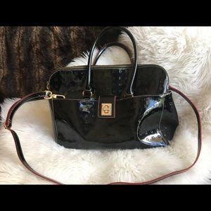 Italian Arcadia Patent Leather Handbag